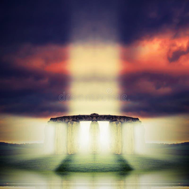 Temple de lumière photo libre de droits