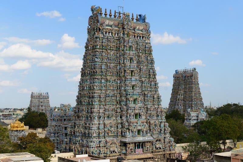 Temple de Madurai photographie stock libre de droits