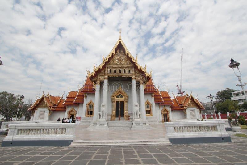 Temple de marbre à Bangkok, Thaïlande photographie stock