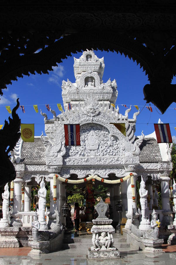 Temple de marbre image libre de droits