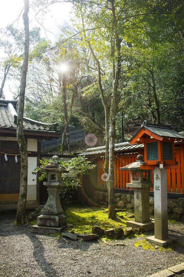 Temple de Matsunoo chez Arashiyama, Kyoto, Japon images stock