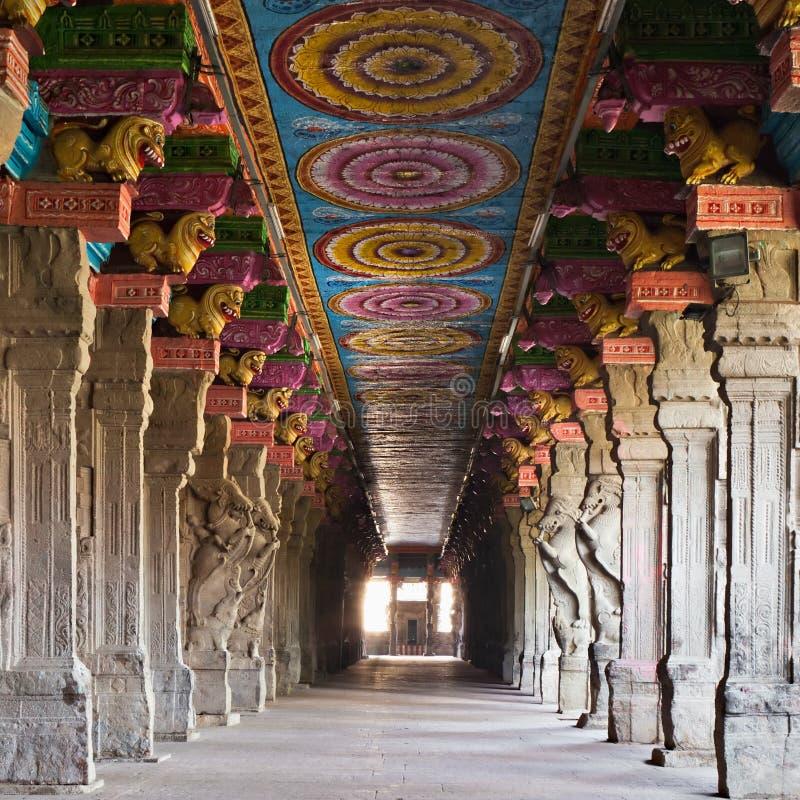 Temple de Meenakshi image stock