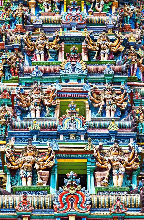 Temple de Meenakshi images libres de droits