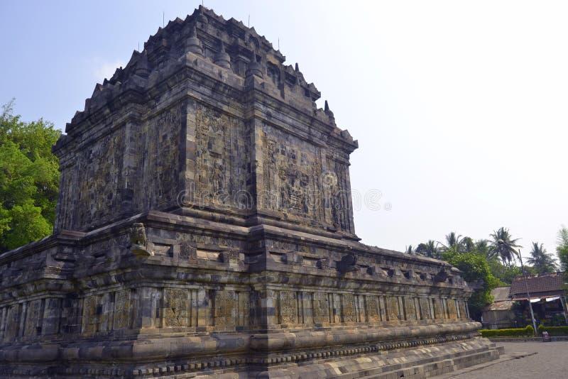 Temple de Mendut, Indonésie photographie stock libre de droits