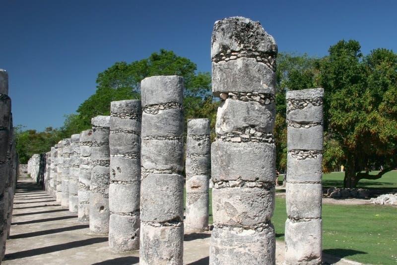 Temple de mille guerriers images stock
