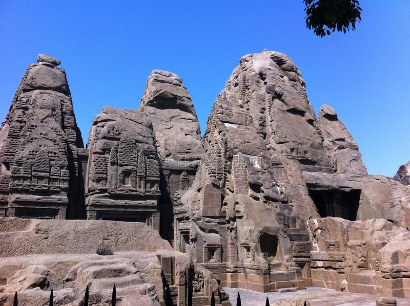 Temple de Monolitic image stock