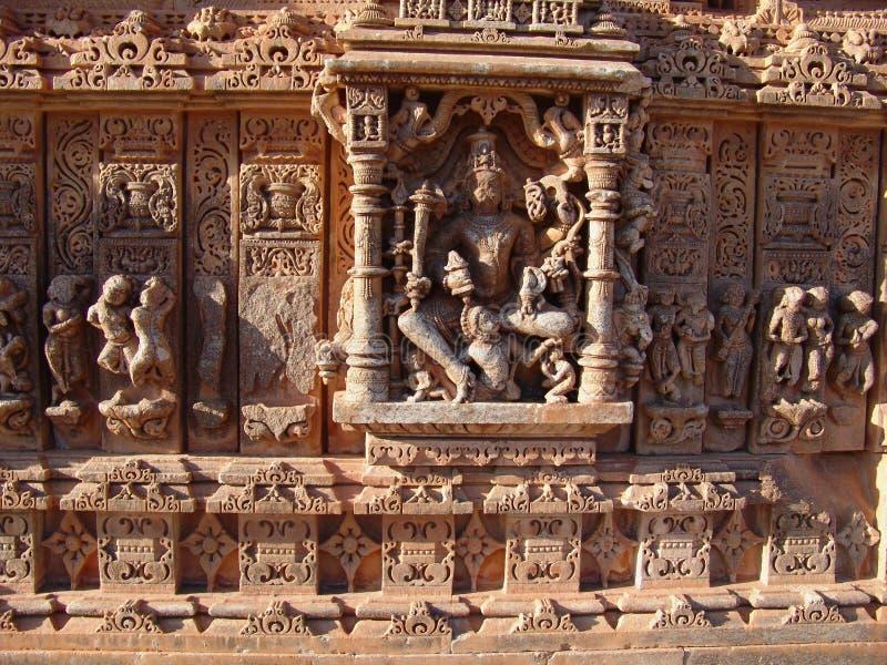 Temple de Nagda de groupe, Ràjasthàn, Inde photos stock