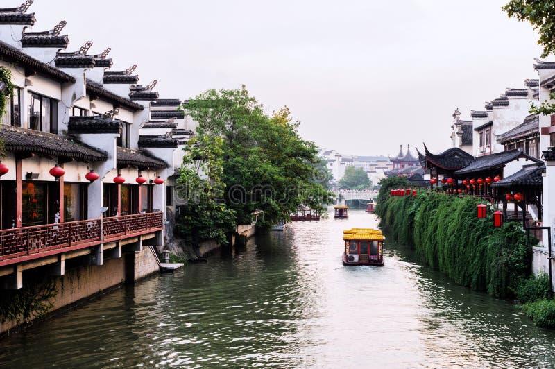 Temple de Nanjing City Confucius photos libres de droits