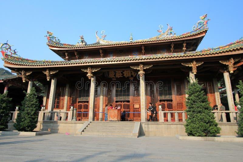 Temple de Nanputuo dans la porcelaine de Xiamen photos stock