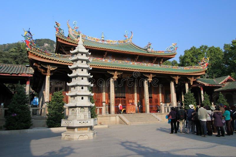 Temple de Nanputuo dans la porcelaine de Xiamen images stock