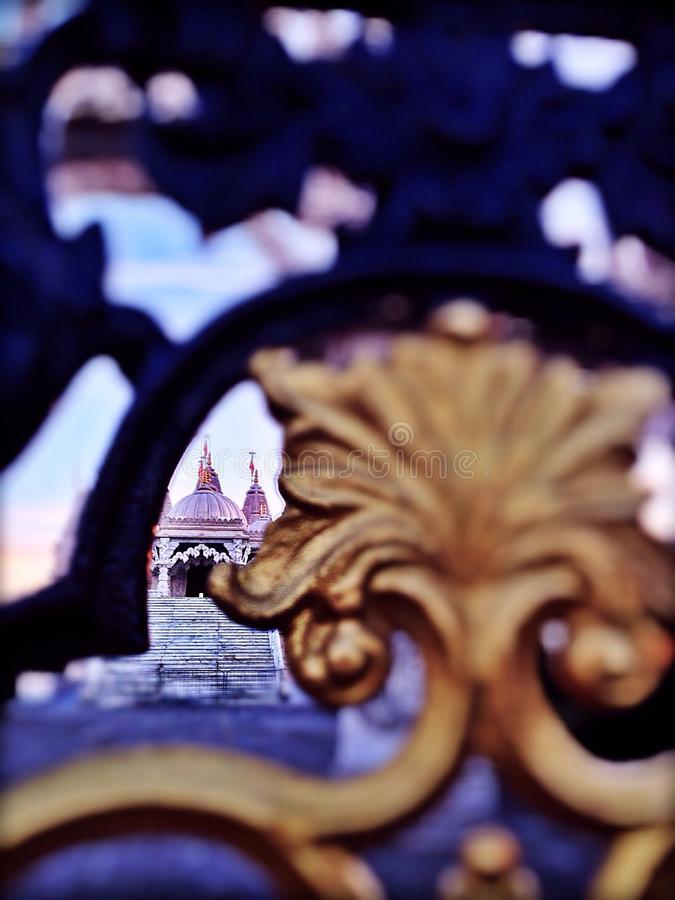 Temple de Neasden photographie stock