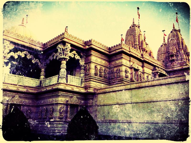 Temple de Neasden image libre de droits
