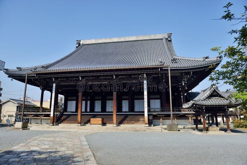 Temple de Nishi Hongan-JI, Kyoto photos stock