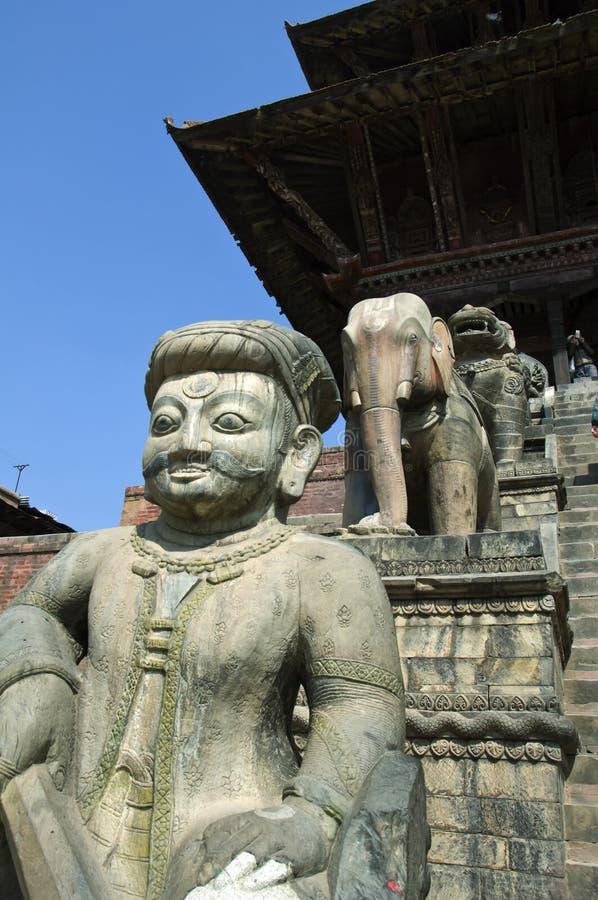 Temple de Nyatapole image libre de droits