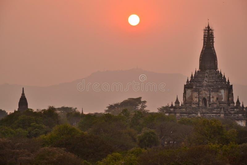 Temple de pagoda de Myanmar Bago photo libre de droits