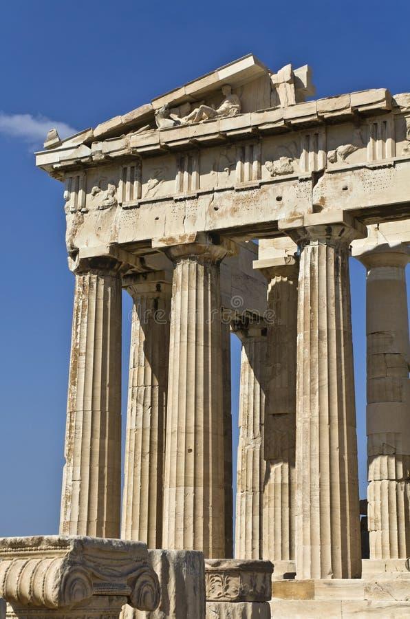 Temple de parthenon à Athènes, Grèce photo stock