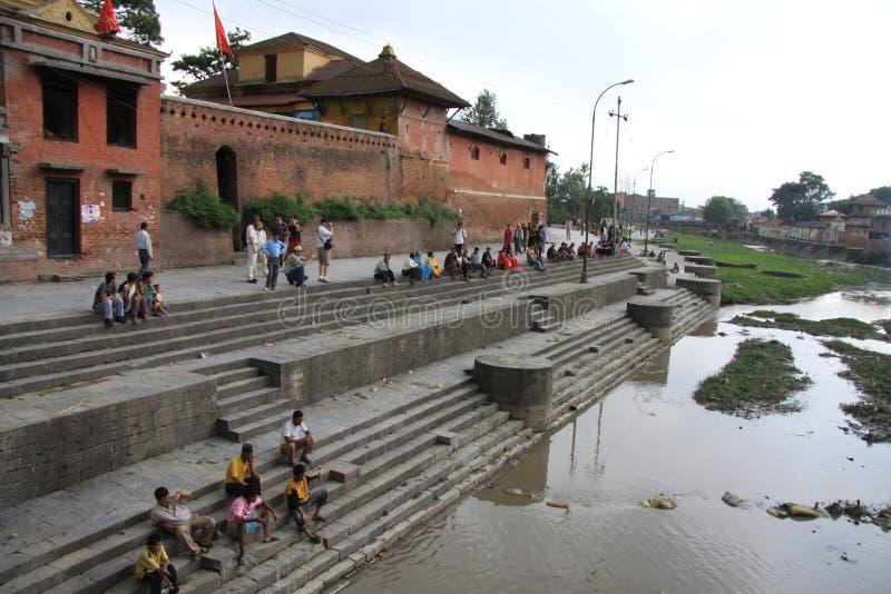 Temple de Pashupatinath photos libres de droits