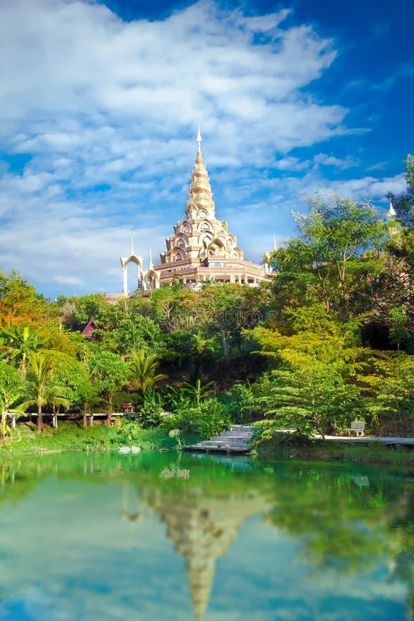 Temple de Phasornkaew de la Thaïlande photo libre de droits