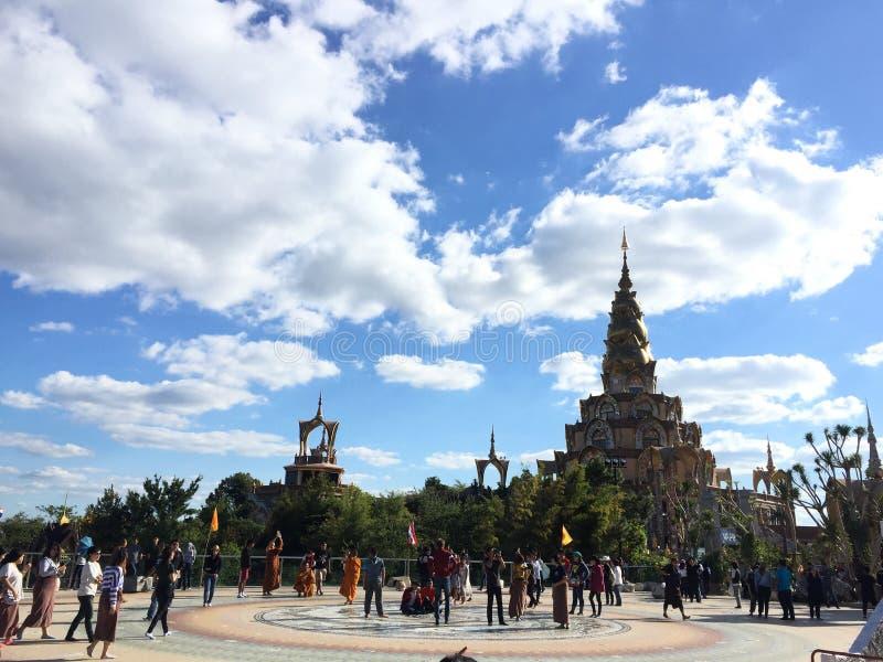 Temple de Phasornkaew en Thaïlande photo stock