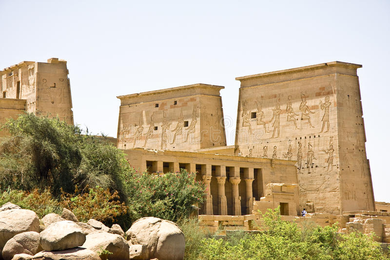 Temple de Philae images stock