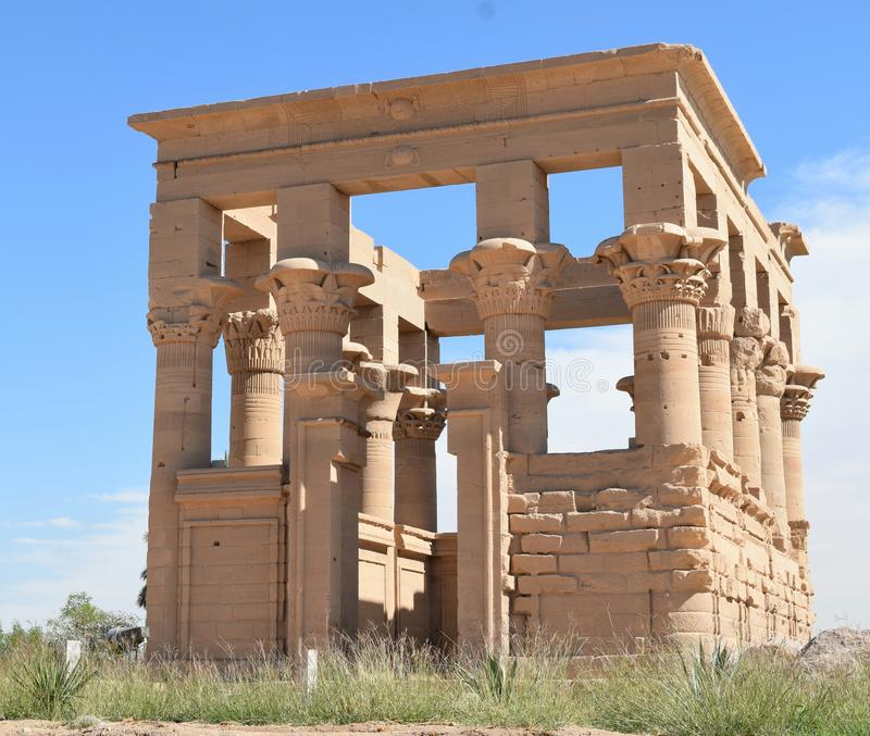 Temple de Philae photo stock