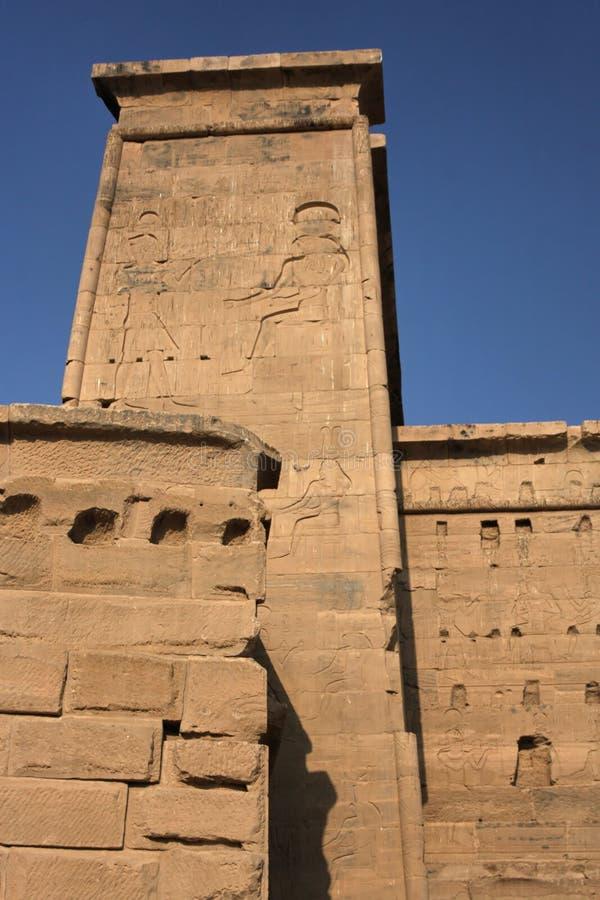 Temple de Philae photo libre de droits