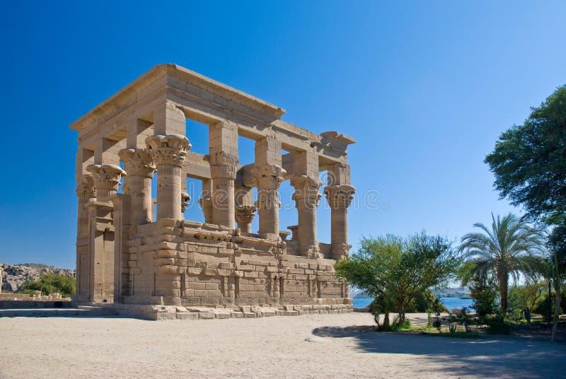 Temple de Philae image libre de droits