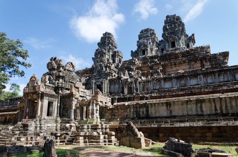 Temple de Phimeanakas à Angkor Thom image stock