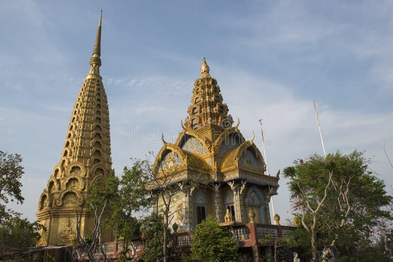 Temple de Phnom Sampeau Battambang, Cambodge photos libres de droits