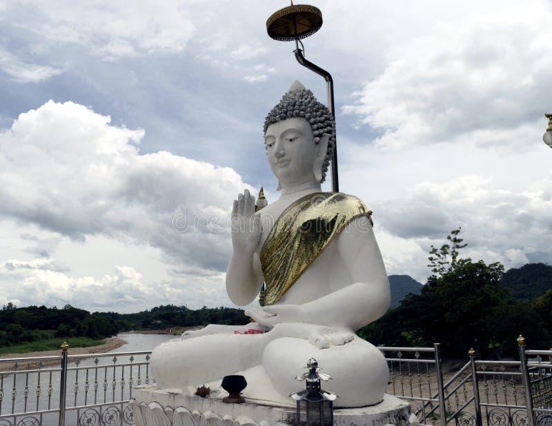 Temple de phra de tham de Wat la caverne des singes Chiang Rai photo libre de droits