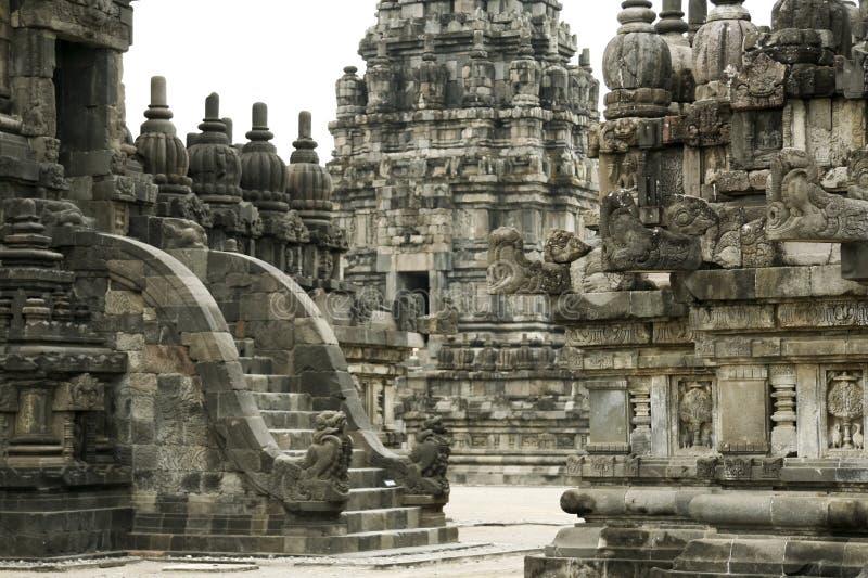 Temple de Prambanan photo stock