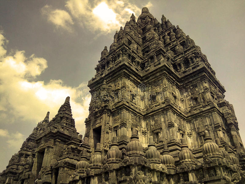 Temple de Prambanan photographie stock libre de droits