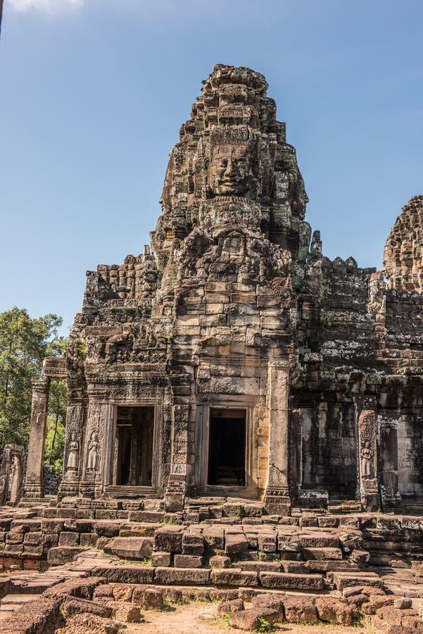 Temple de Prasat Bayon images libres de droits