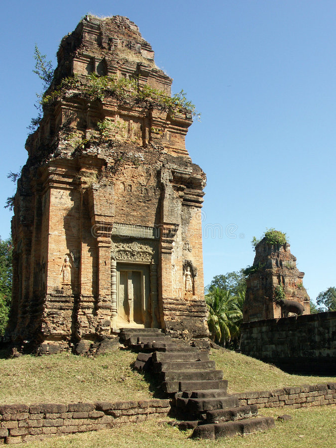 Temple de Preah Rup photo libre de droits