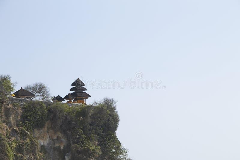 Temple de Pura Luhur Uluwatu photo libre de droits