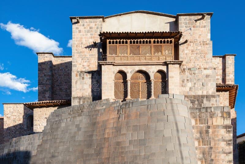 Temple de Qurikancha, Cusco images stock