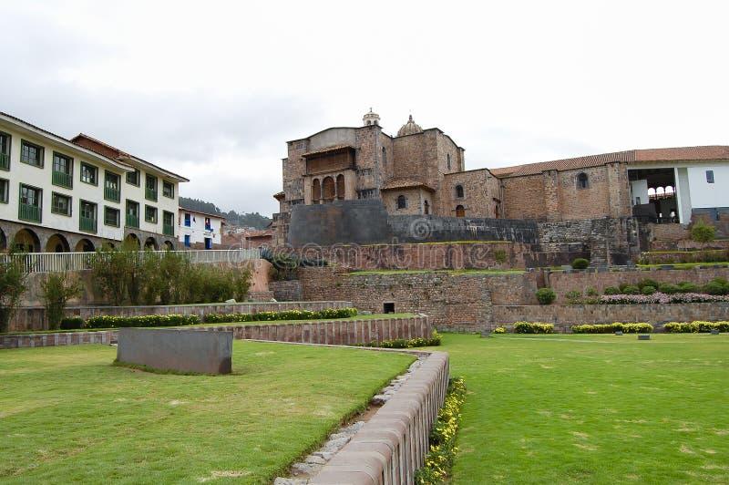 Temple de Qurikancha - Cusco - Pérou photographie stock libre de droits