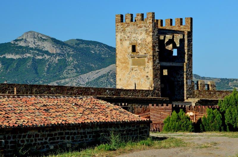 Temple de république de Gênes photo stock