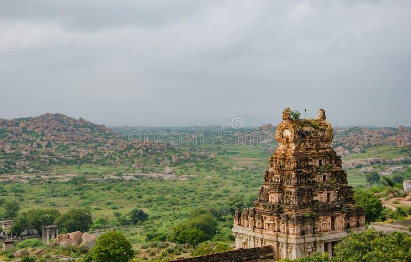 Temple de Rama sur le bâti Matanga image libre de droits