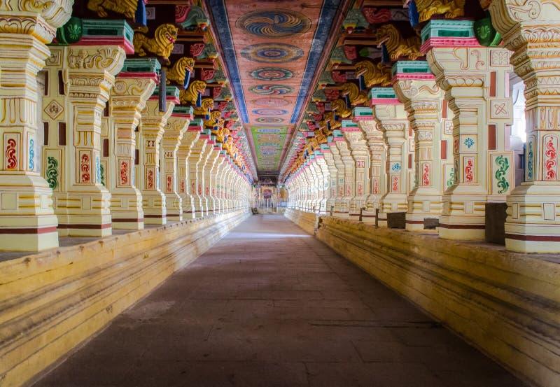 Temple de Ramanathaswamy photographie stock