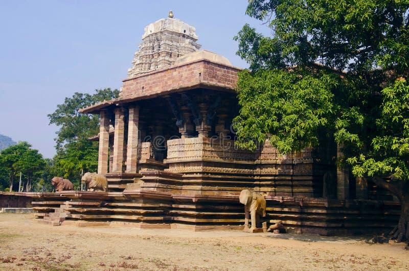 Temple de Ramappa, Palampet, Warangal, Telangana, Inde photo libre de droits