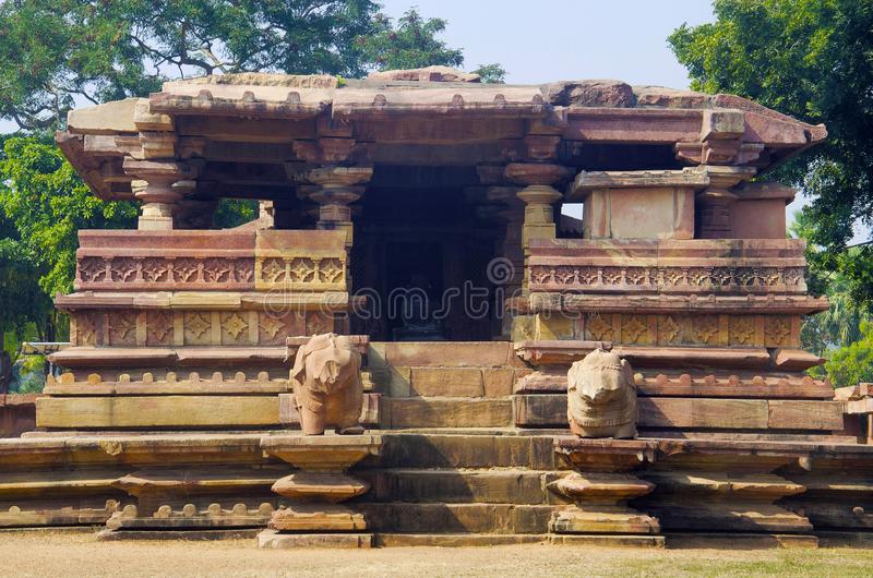 Temple de Ramappa, Palampet, Warangal, Telangana, Inde photos stock