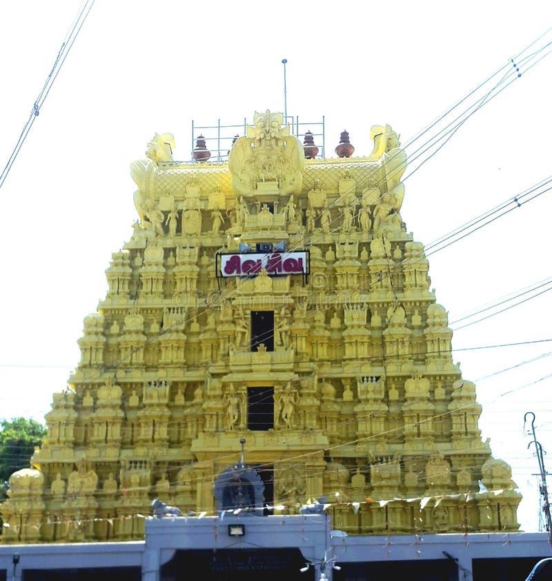 Temple de Ramaswaram photo libre de droits