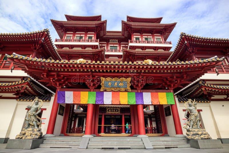 Temple de relique de Bouddha Toothe images libres de droits
