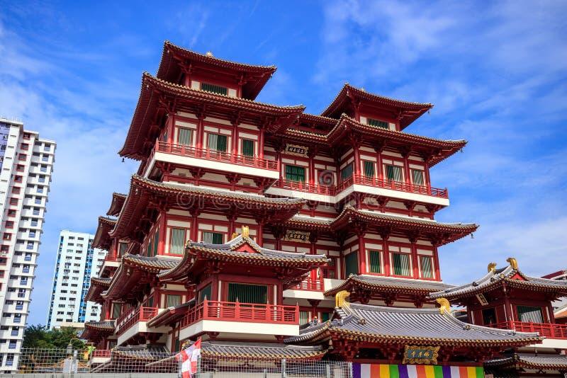Temple de relique de Bouddha Toothe photo libre de droits