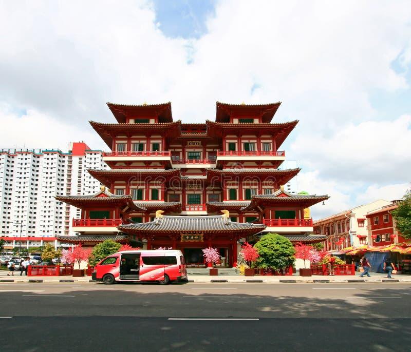 Temple de relique de dent de Bouddha photo libre de droits