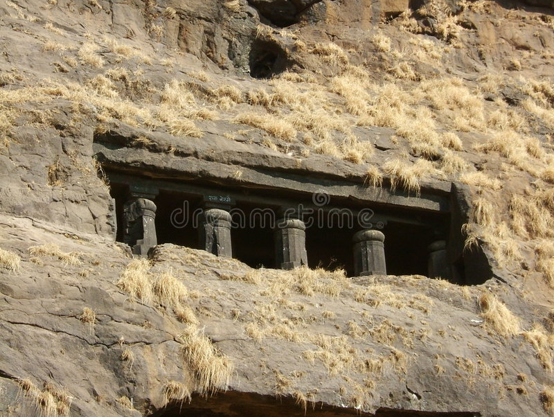 Temple de roche photos stock
