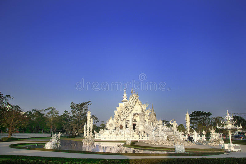 Temple de Rong Khun photo stock