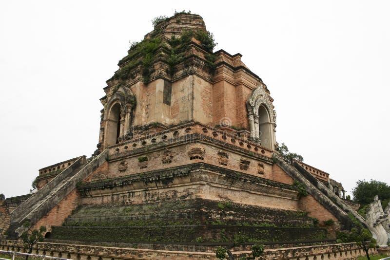 temple de ruines de Chiang Mai Thaïlande images libres de droits