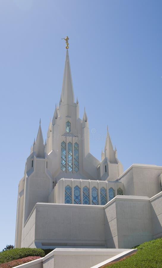 Temple de San Diego LDS image stock